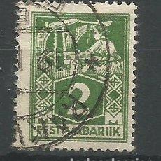 Sellos: ESTONIA - 2 MARCOS - ESTI VABARIIK - VERDE. Lote 178789091