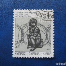 Sellos: CHIPRE, 1988 SELLO USADO. Lote 179386251