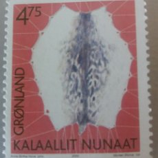 Sellos: GROENLANDIA/KALAALLIT NUNAAT/DINAMARCA/GRONLAND/GREENDLAND-1 SELLO- 2000- ANNE BIRTHE HOVE. Lote 179388713