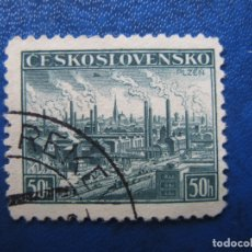 Sellos: -CHECOSLOVAQUIA 1938, YVERT 343. Lote 180164800