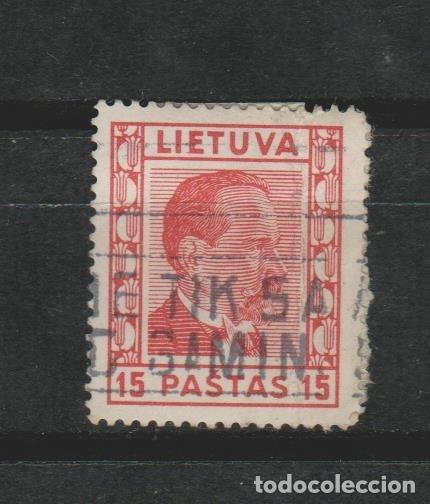 LOTE T SELLOS SELLO LIETUEVA (Sellos - Extranjero - Europa - Otros paises)