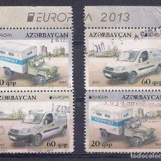 Francobolli: AZERBAIJAN 2013 - EUROPA COCHES USADOS. Lote 180415661