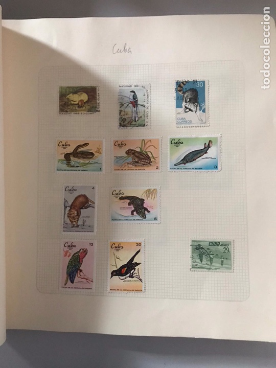 Sellos: Álbum de sellos del mundo ver fotos - Foto 13 - 180881942