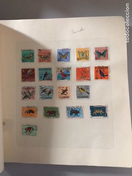 Sellos: Álbum de sellos del mundo ver fotos - Foto 15 - 180881942