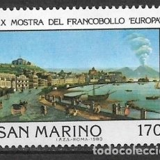 Selos: SAN MARINO 1980 ** SERIE COMPLETA - 7/39. Lote 182684377