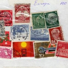 Sellos: LOTE DE 16 SELLOS USADOS, EUROPA. Lote 186291160