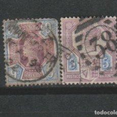 Sellos: LOTE C SELLOS GRAN BRETAÑA MAS DE 60 EUROS. Lote 186661283