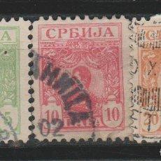 Sellos: LOTE Q SELLOS SERBIA 1901. Lote 189819140
