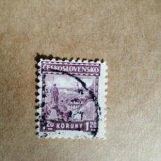 Sellos: CHECOSLOVAQUIA - 1,20 KORUNY. Lote 189887902