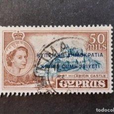 Sellos: CHIPRE CYPRUS, 1960 YVERT 181. Lote 191334902
