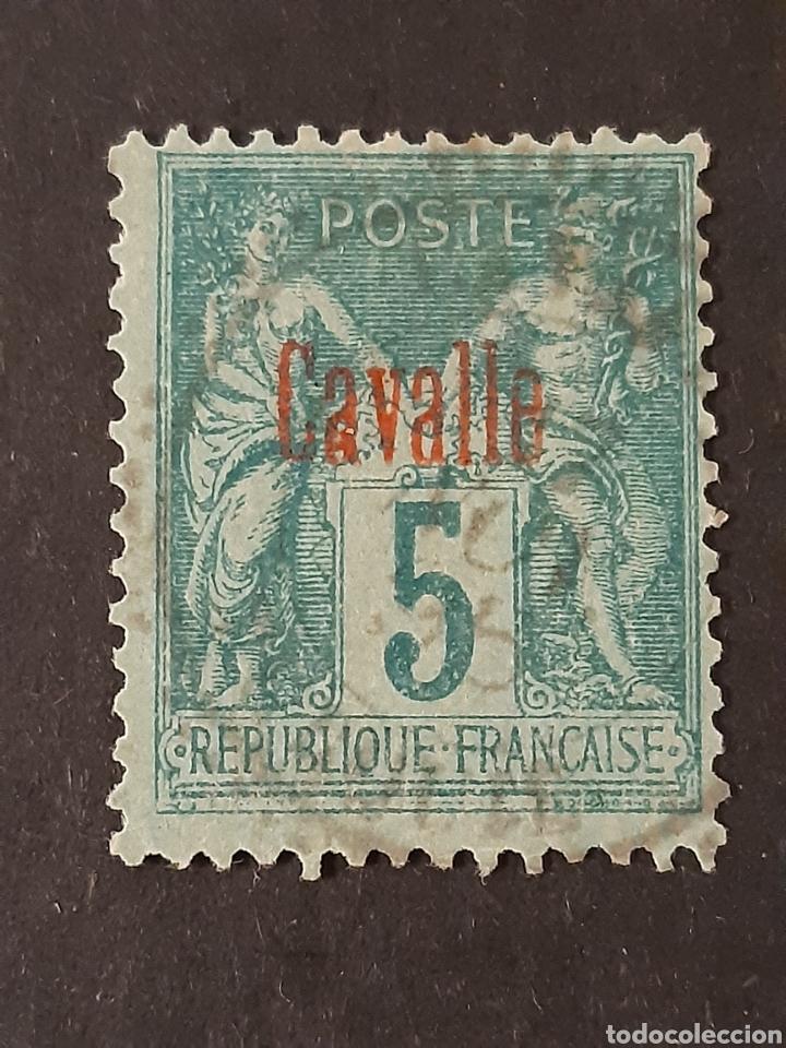 CAVALLE , YVERT 1 (Sellos - Extranjero - Europa - Otros paises)