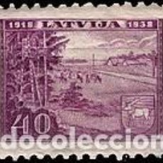 Sellos: SELLO USADO DE LETONIA, YT 237. Lote 194295493