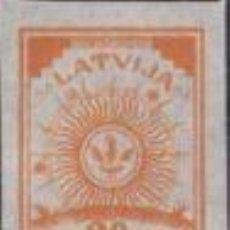 Sellos: SELLO NUEVO DE LETONIA, YT 13. Lote 194296296