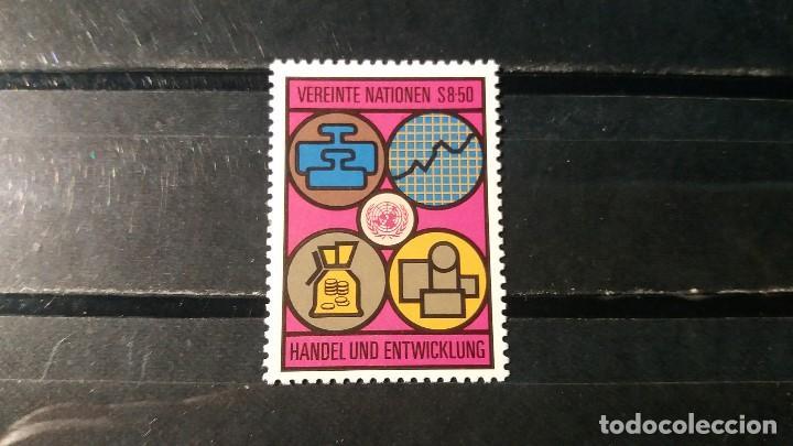 SELLO NUEVO NACIONES UNIDAS.OFICINA VIENA. COMERCIO Y DESARROLO. 6 JUNIO 1983. YVERT 35. (Sellos - Extranjero - Europa - Otros paises)
