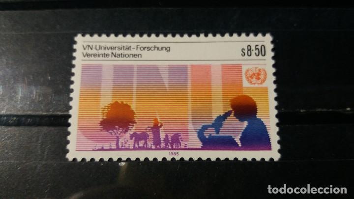 SELLO NUEVO NACIONES UNIDAS.OFICINA VIENA. UNIVERSIDAD ONU. TOKIO. 15 MARZO 1985. YVERT 48. (Sellos - Extranjero - Europa - Otros paises)