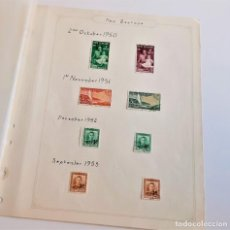 Sellos: NEW ZEALAND FOLIO COLECCION SELLOS ESTAMPS 1950-1953. Lote 195324508