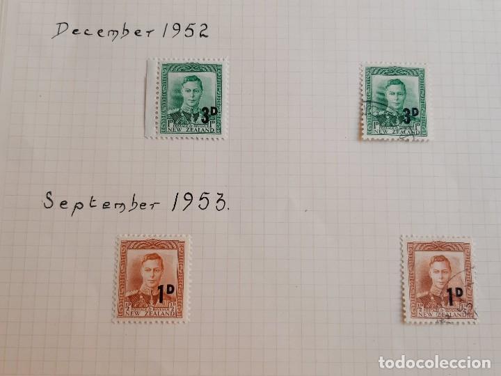 Sellos: NEW ZEALAND FOLIO COLECCION SELLOS ESTAMPS 1950-1953 - Foto 2 - 195324508