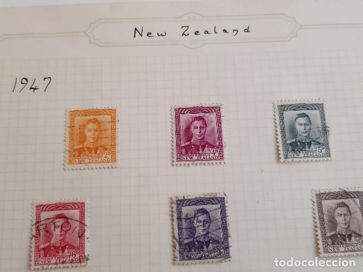 Sellos: NEW ZEALAND FOLIO COLECCION SELLOS ESTAMPS 1947 - Foto 4 - 195324953