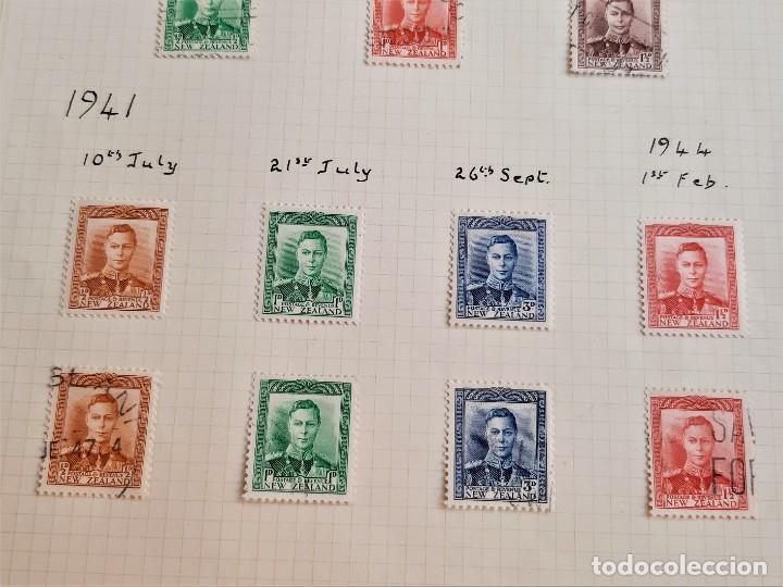 Sellos: NEW ZEALAND FOLIO COLECCION SELLOS ESTAMPS 1937-1941 - Foto 2 - 195325537