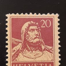 Sellos: SUIZA , YVERT 162 **. Lote 195528127