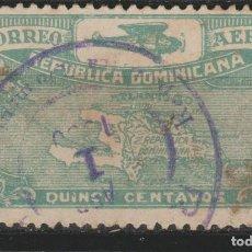 Selos: LOTE L-SELLO ANTIGUO REPUBLICA DOMINICANA AEREO ALTO VALOR. Lote 195644353