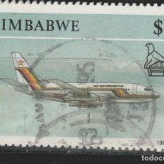Sellos: LOTE Z-SELLO ZIMBAWE AEREO. Lote 227129385