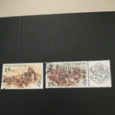Sellos: SELLOS DE LA REPÚBLICA CHECA. Lote 198612125