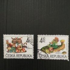 Sellos: SELLOS DE LA REPÚBLICA CHECA. Lote 198613066