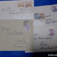 Sellos: LOTE 5 SOBRES 1906 1931 ALEMANIA Y AUSTRIA. Lote 198753361