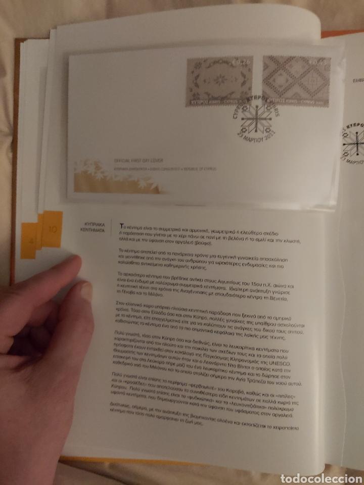 Sellos: Servicio Postal de Chipre 2011: Sellos y Sobres / Dos libros, 35 paginas cada libro. - Foto 7 - 201811405