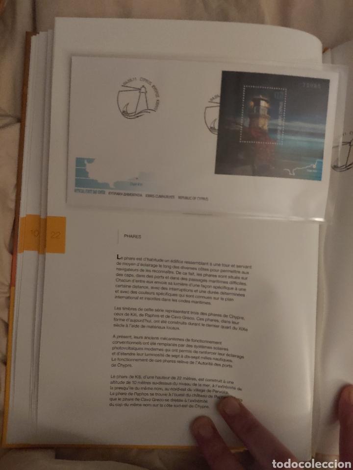 Sellos: Servicio Postal de Chipre 2011: Sellos y Sobres / Dos libros, 35 paginas cada libro. - Foto 11 - 201811405