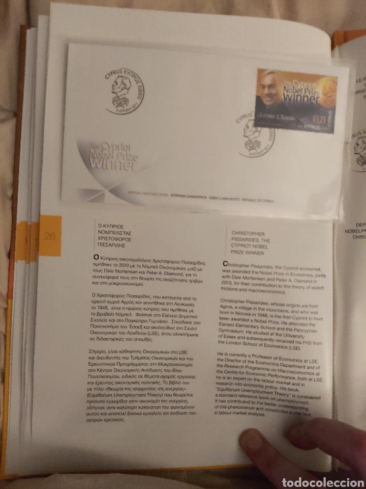 Sellos: Servicio Postal de Chipre 2011: Sellos y Sobres / Dos libros, 35 paginas cada libro. - Foto 13 - 201811405