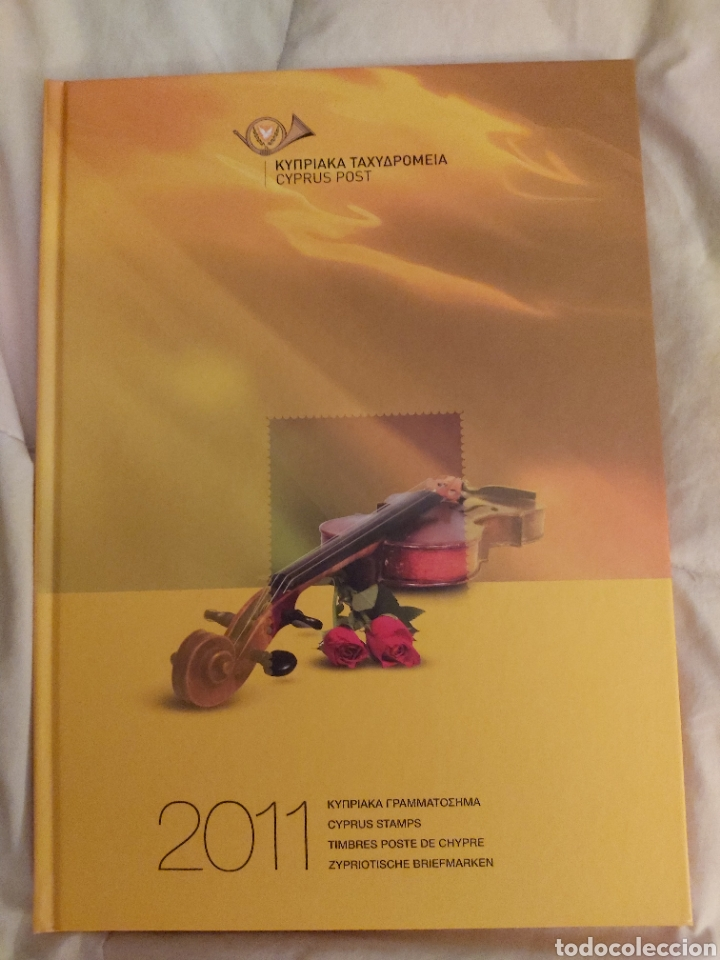 Sellos: Servicio Postal de Chipre 2011: Sellos y Sobres / Dos libros, 35 paginas cada libro. - Foto 16 - 201811405