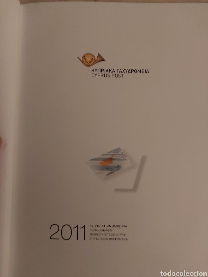 Sellos: Servicio Postal de Chipre 2011: Sellos y Sobres / Dos libros, 35 paginas cada libro. - Foto 17 - 201811405