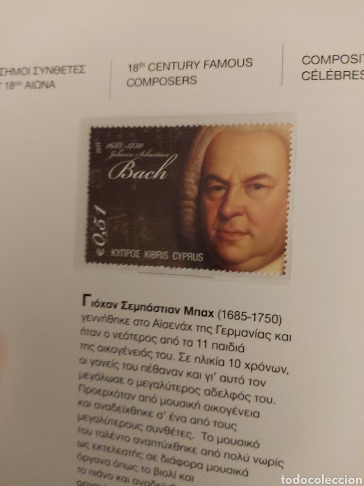 Sellos: Servicio Postal de Chipre 2011: Sellos y Sobres / Dos libros, 35 paginas cada libro. - Foto 19 - 201811405