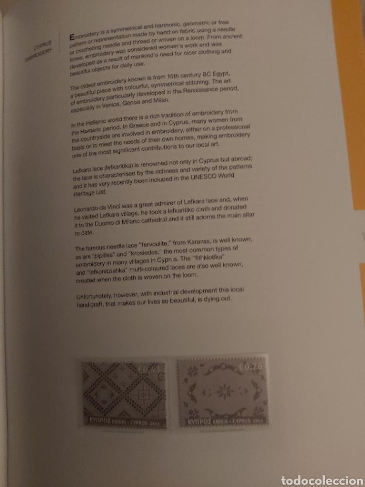 Sellos: Servicio Postal de Chipre 2011: Sellos y Sobres / Dos libros, 35 paginas cada libro. - Foto 25 - 201811405