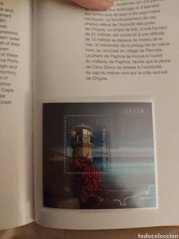 Sellos: Servicio Postal de Chipre 2011: Sellos y Sobres / Dos libros, 35 paginas cada libro. - Foto 30 - 201811405