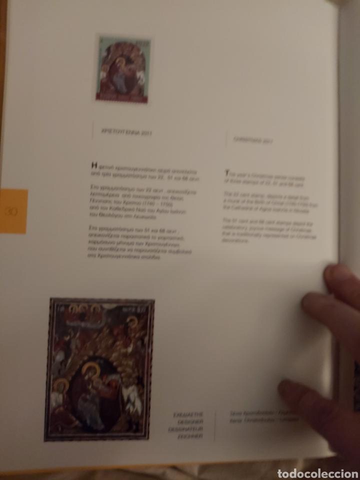 Sellos: Servicio Postal de Chipre 2011: Sellos y Sobres / Dos libros, 35 paginas cada libro. - Foto 33 - 201811405