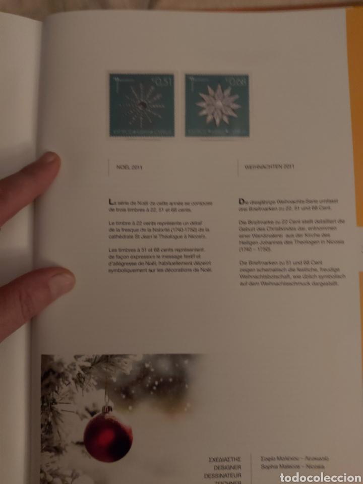 Sellos: Servicio Postal de Chipre 2011: Sellos y Sobres / Dos libros, 35 paginas cada libro. - Foto 35 - 201811405