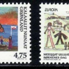 Sellos: GROENLANDIA,MNH, FIESTA DE LOS NIÑOS, EUROPA CEPT 1998 (FOTOGRAFÍA REAL). Lote 202578130