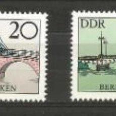 Sellos: ALEMANIA - ORIENTAL - COLECCIÓN PUENTES HISTÓRICOS DE BERLIN - COMPLETO - NUEVOS CON ADHESIVO. Lote 204476007