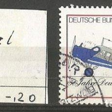 Sellos: ALEMANIA FEDERAL 1976 - MICHEL Nº 878 - 50 AÑOS LUFHANSA - USDAO. Lote 204751727