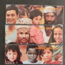 Sellos: NACIONES UNIDAS,50°ANIVERSARIO MNH (FOTOGRAFÍA REAL). Lote 221441182