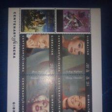 Francobolli: GIBRALTAR HB 1995 CINE MARILYN MONROE. Lote 204807988