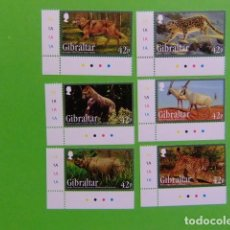 Sellos: GIBRALTAR 2012 ANIMALES SALVAJES MICHEL BLOC 109 **. Lote 205440418