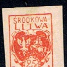 Sellos: LITUANIA // YVERT 22 // 1920-21 ... NUEVO. Lote 205560096