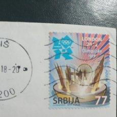 Sellos: SELLOS REPUBLICA DE SERBIA. Lote 205597665