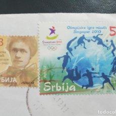 Sellos: SELLOS REPUBLICA DE SERBIA. Lote 205597991
