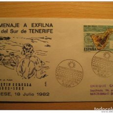 Sellos: ADEJE 1982 HOMENAJE A EXFILNA 82 CIT DEL SUR JOAQUIN SOROLLA PINTURA PAINT SOL S. Lote 205944035
