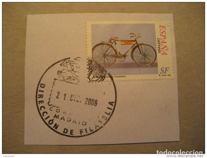 Spain 1999 Bike Bycicle Cycling SF Servicio Filatelico Franquicia Postage Paid P segunda mano